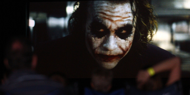 The Dark Knight featuring Heath Ledger. Photo / Getty