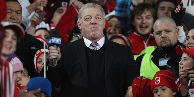 Channel Nine commentator Phil Gould made controversial comments last night. Photo / Getty
