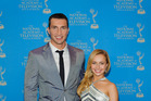 Wladimir Klitschko and Hayden Panettiere attend the 2013 Sports Emmy Awards in New York. Photo / Getty Images.
