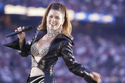 Shania Twain performing at the halftime show at the Super Bowl. Photo / Getty