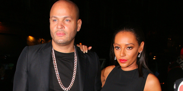 Stephen Belafonte and Melanie Brown pictured in 2014. Photo / Getty Images
