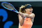 Maria Sharapova during day one of the 2016 Australian Open. Photo / Getty Images