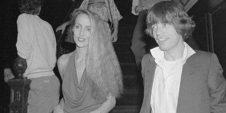 Mick Jagger and model Jerry Hall at Studio 54 in 1978. Photo / Getty