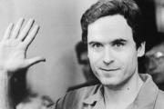The American serial killer Ted Bundy, who is believed to have murdered at least 30 people. Photo / Getty