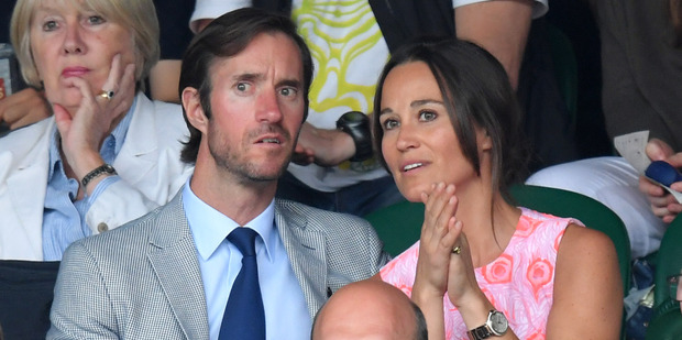 Pippa Middleton and James Matthews. Photo / Getty Images