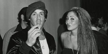 Sylvester Stallone and Sheryl Slocum at Studio 54 in 1977. Photo / Getty Images