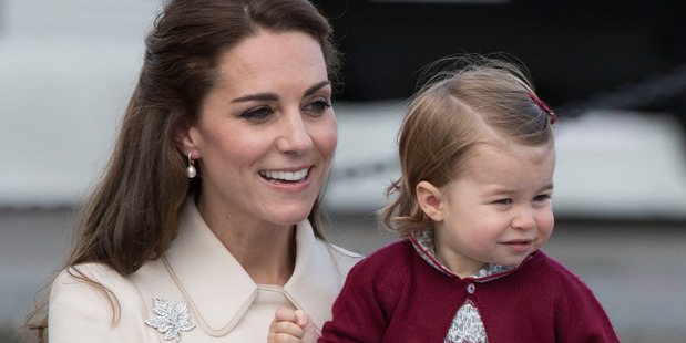 Loading Catherine, Duchess of Cambridge and Princess Charlotte of Cambridge. Photo / Getty Images