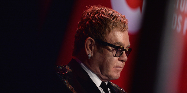 Sir Elton John was taken ill on a flight home from his recent South American tour. Photo / Getty Images