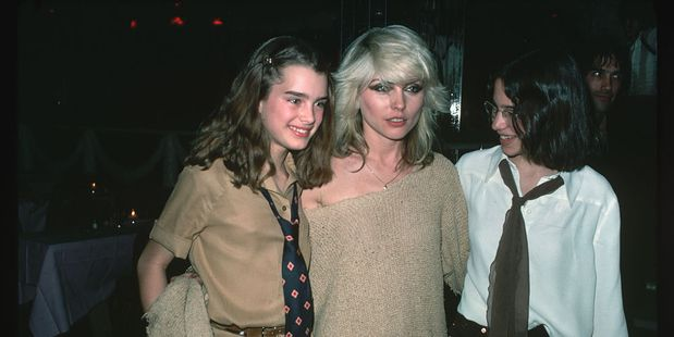 Brooke Shields and Debbie Harry at New York's Studio 54 in 1978. Photo / Getty
