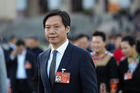 Lei Jun, Chairman and CEO of Xiaomi Technology and Chairman of Kingsoft Corp. Photo / Getty Images