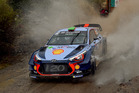 Hayden Paddon in action during WRC Mexico. Photo / Getty Images