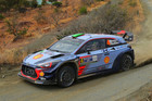 Hayden Paddon in action during Rally Mexico. Photo / Getty Images