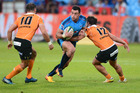 Jesse Kriel in action for the Bulls against the Cheetahs at Loftus Versfeld in Pretoria earlier this morning (NZT). Photo / Getty Images.