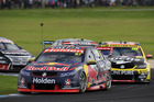 Shane van Gisbergen during race 6 for the Phillip Island 500. Photo / Getty Images