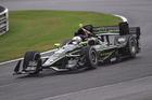 Josef Newgarden during the Honda Grand Prix of Alabama IndyCar race . Photo / Getty Images