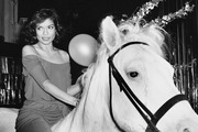 Bianca Jagger became one of the enduring images of Studio 54 after she rode a horse through the nightclub on her 30th birthday. Photo / Getty