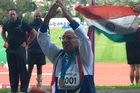 Oldest World Masters Games competitor wins big.