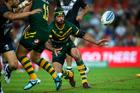 Johnathan Thurston could again lead the Kangaroos attack against the Kiwis. Photo / photosport.nz