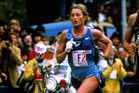 Alison Roe competes in the New York Marathon which she won with a new course record, 1981. Photo/Photosport