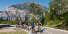 In Riva del Garda, Italy, mountain bike trails are accompanied by breathtaking scenery. Photo / Supplied
