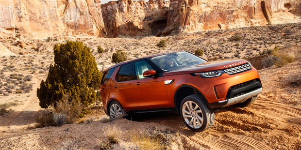The fifth-generation Land Rover Discovery was launched globally in Utah, with the 3-litre V6 diesel. Photo / Nick Dimbleby