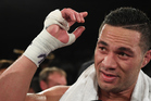 New Zealand Heavyweight boxer Joseph Parker after defeating French Cameroon boxer Carlos Takam. Photo / Photosport.