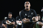 Jerome Kaino of the All Blacks performs the haka during the Rugby Championship match between the New Zealand All Blacks and Argentina. Photo / Phil Walter.