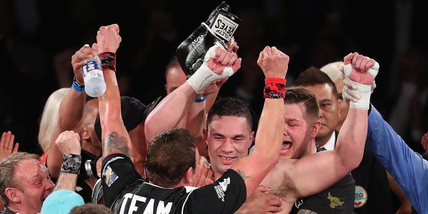 Loading Frustrated WBO world heavyweight champion Joseph Parker - still hoping for an Auckland farewell. Photo / Photosport