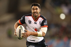 Shaun Johnson of the Warriors in action. Photo / Photosport