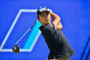Lydia Ko on the first tee at the LPGA, ANA Inspirational Golf Tournament at The Mission Hills Country Club in Rancho Mirage. Photo  / Photosport.co.nz