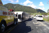 Crash on State Highway One in the Brynderwyns. Photo / Northern Advocate, John Stone