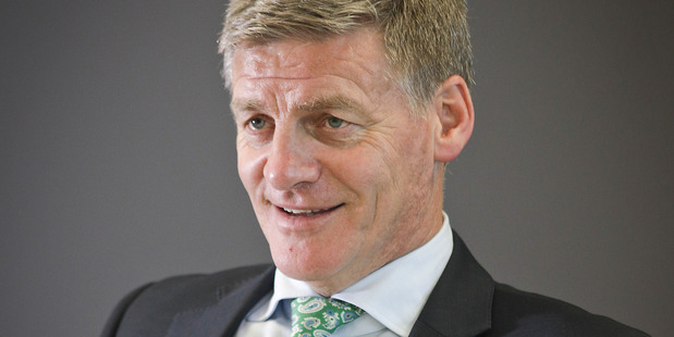 Prime Minister Bill English is talking about addressing threats from other countries but he's not saying much about Cabinet changes. Photo/Andrew Warner