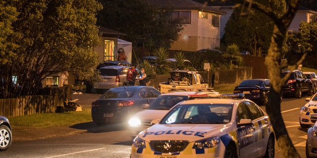 Police are investigating after the death of a man on Pisces Rd, Glen Eden. Photo/Peter Meecham