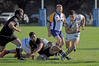 Lalakai Foketi, in action for BOP Wasps against NZ Universities on Tuesday, will be a key player for Rangataua Sports against Te Puke Sports tomorrow. Photo / George Novak