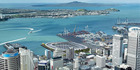 """An artist's impression for a proposed new stadium on Auckland's Waterfront. Dubbed """"The Crater"""" the venue is sunken below the level of the harbour. Photo / supplied"""