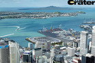 An artist's impression for a proposed new stadium on Auckland's Waterfront. Dubbed