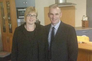 Verity McLean and Ben McLean. Off-duty policeman Constable Ben McLean allegedly shot his estranged wife Verity. Photo / Facebook