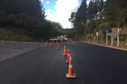 SH36 is completely closed from Te Matai Rd on the Tauranga side. Photo/George Novak
