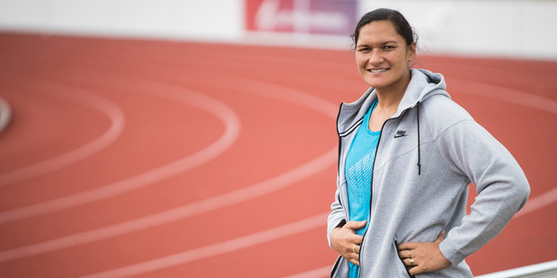 Loading Dame Valerie hasn't ruled out competing at the Commonwealth Games in Australia,  six months after giving birth. Photo / Jason Oxenham