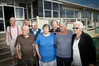 LOYAL CORE: Gate Pa Bowling Club life members and longest serving. Left to right, Bruce Anderson, Spencer Bieleski, Peter Smale, Bob Swale, June Morrow, Brian Hubert, Mary Smale, and Mavis Clarke.
