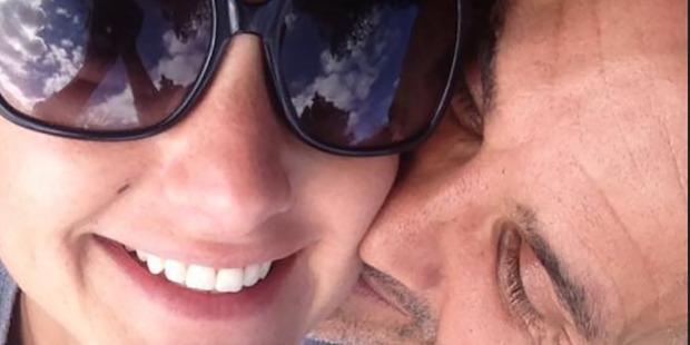 Matthew Ridge with fiance Chloe Liggins. Photo/Facebook