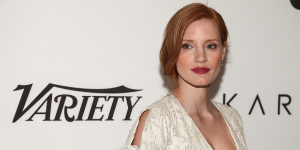 Jessica Chastain attends Variety's Power of Women: New York. Photo / AP