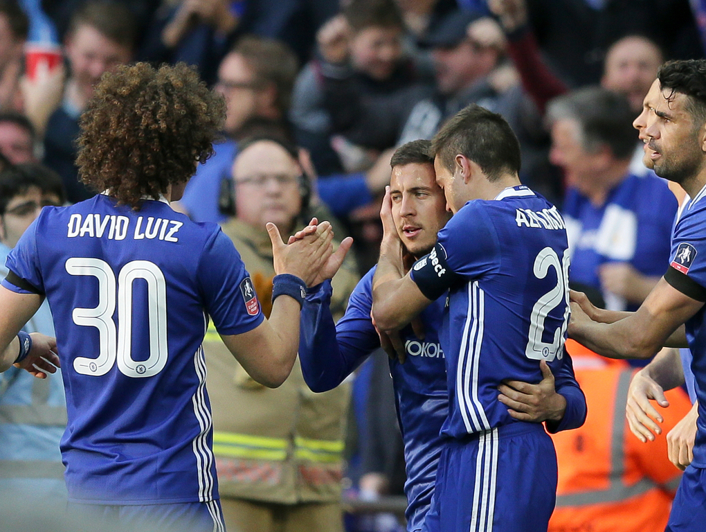 Football: Chelsea on track for double with FA Cup semi-final win
