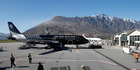 An Air New Zealand aircraft at Queenstown Airport. Photo / Mark MItchell
