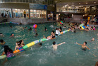 A woman was pulled unresponsive from a pool at West Wave Aquatic Centre in Henderson last night. Photo / File