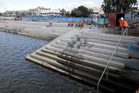 Tidal steps at the Strand are a great addition the city's waterfront. Photo/File
