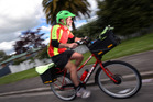 Power post: Even posties are getting on to e-bikes. Photo/file
