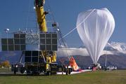 NASA high-pressure balloon under inflation at the Wanaka aerodrome.