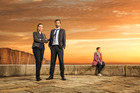 David Tennant and Olivia Colman star in Broadchurch.