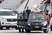Controversial internet entrepreneur Kim Dotcom wants New Zealand Police to question FBI chief James Comey, shown here leaving Queenstown Airport for the Five Eyes conference. Photo/Brett Phibbs